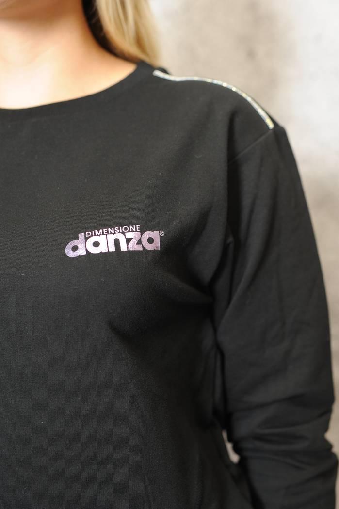 BLUZA DIMENSIONE DANZA 20EDD70356 CZARNA