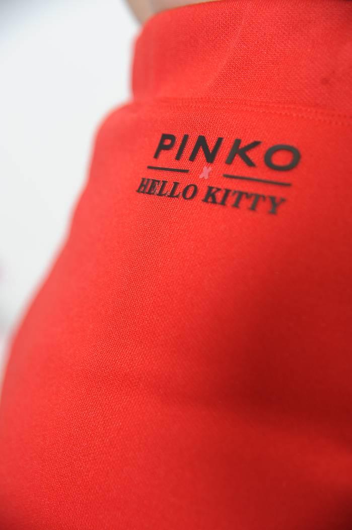 SPÓDNICA PINKO EXOTIC CZERWONA HELLO KITTY