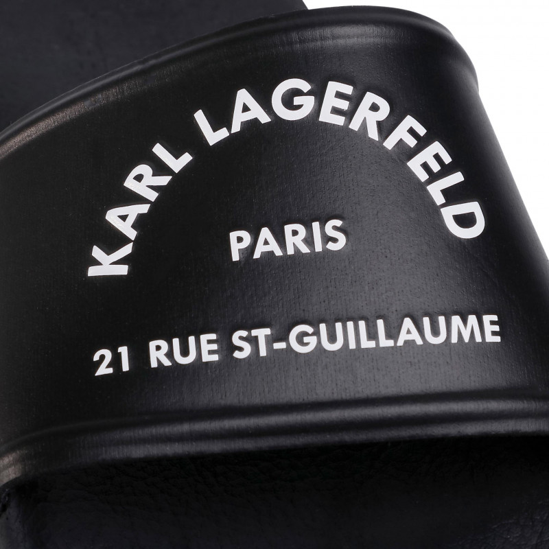 KLAPKI KARL LAGERFELD KL80908 CZARNE