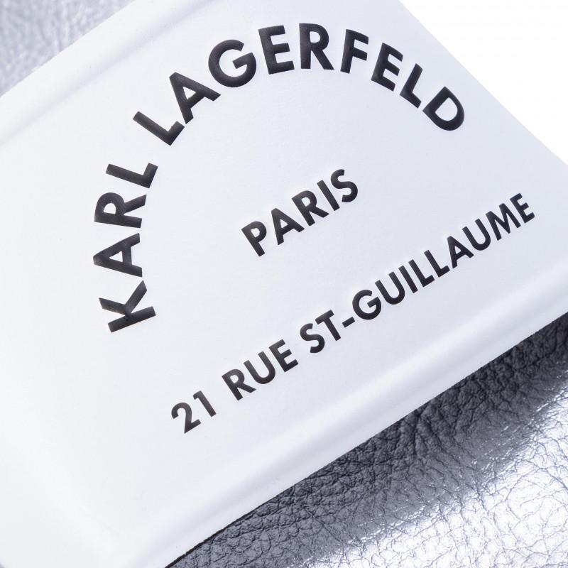 KLAPKI KARL LAGERFELD KL80908 BIAŁE